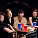 Logan Lerman, Emma Watson, Mae Whitman