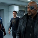 Chris Evans, Robert Downey Jr., Samuel L. Jackson