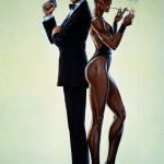 Grace Jones,Roger Moore