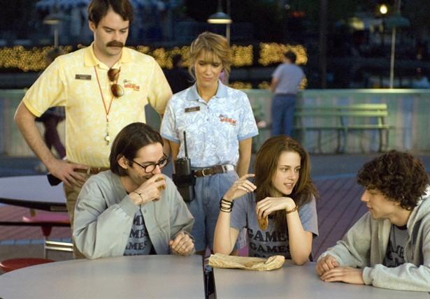 Bill Hader,Jesse Eisenberg,Kristen Stewart,Martin Starr