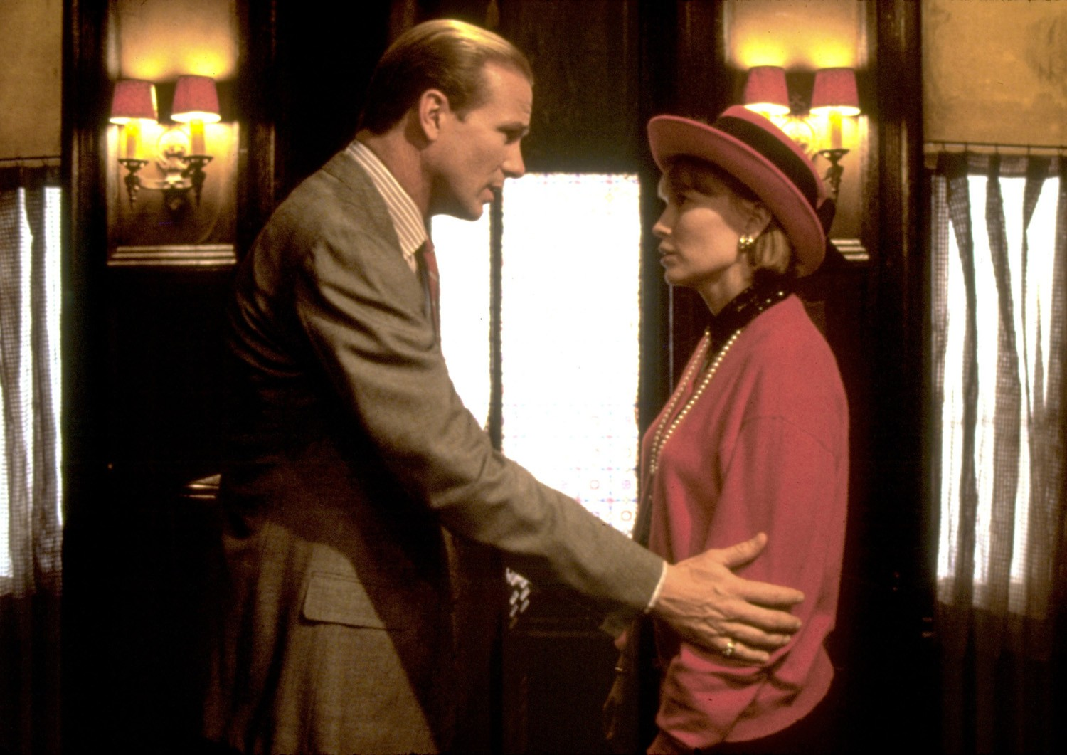 Mia Farrow,William Hurt