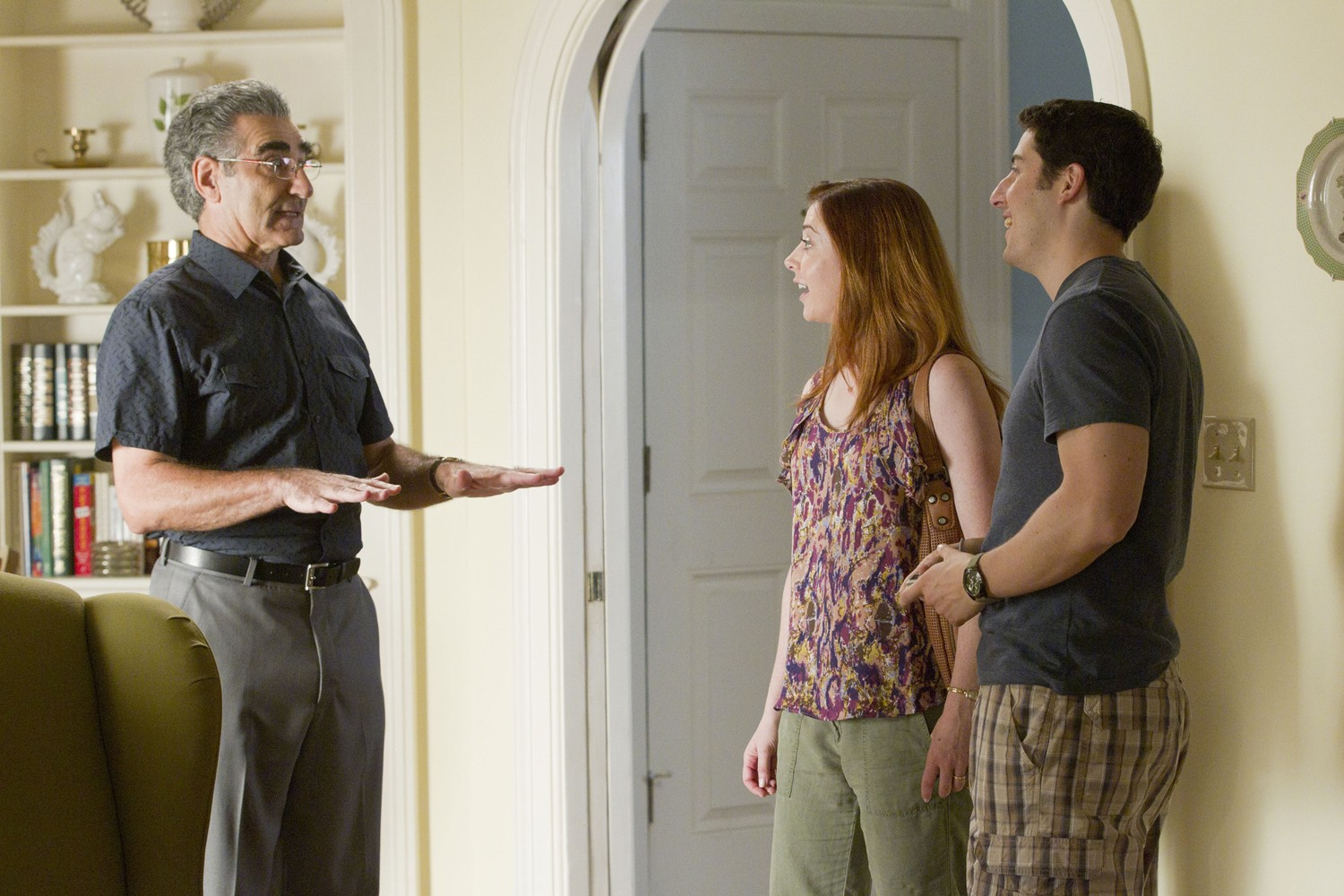 Alyson Hannigan,Eugene Levy,Jason Biggs