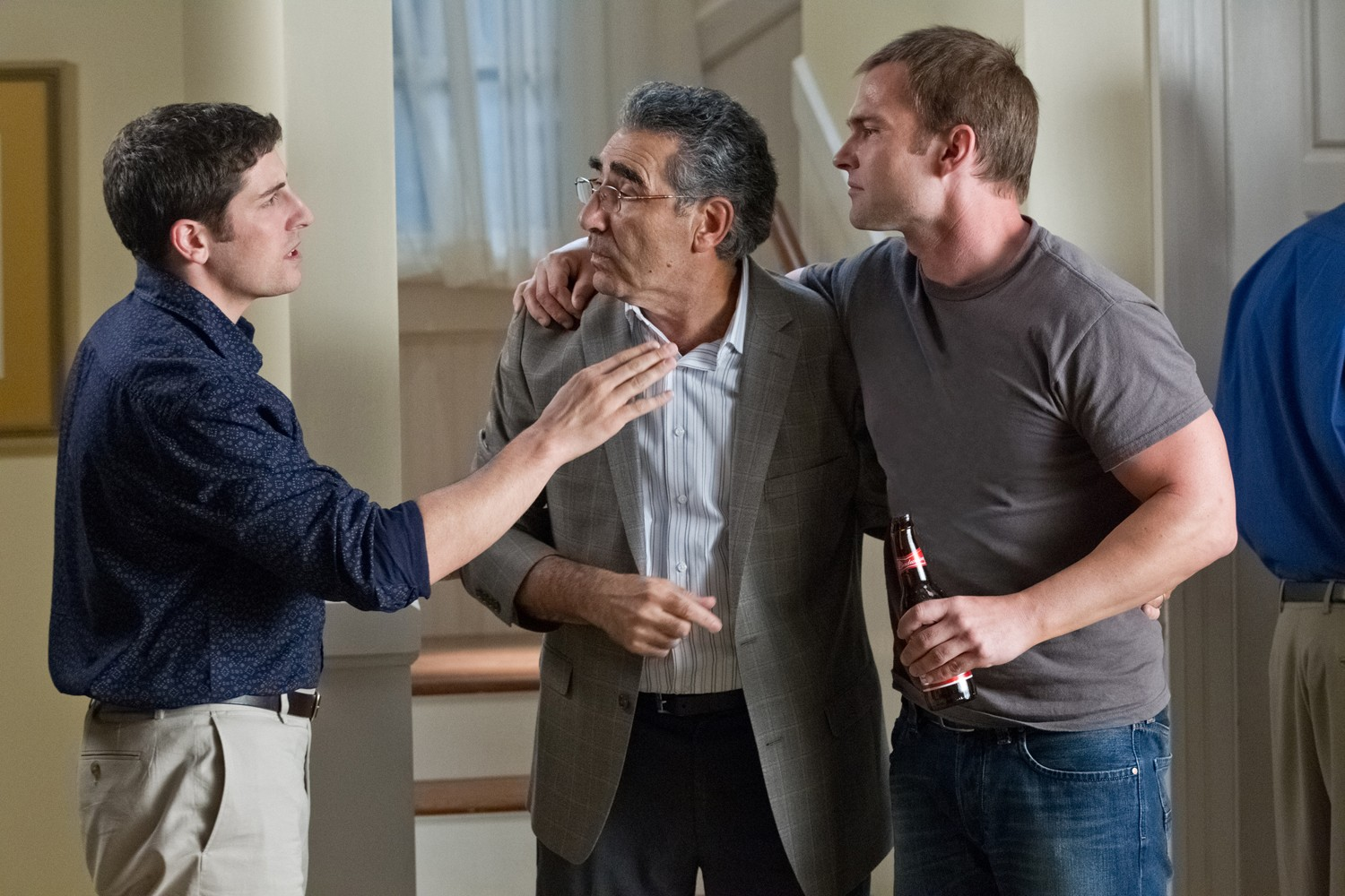 Eugene Levy,Jason Biggs,Seann William Scott