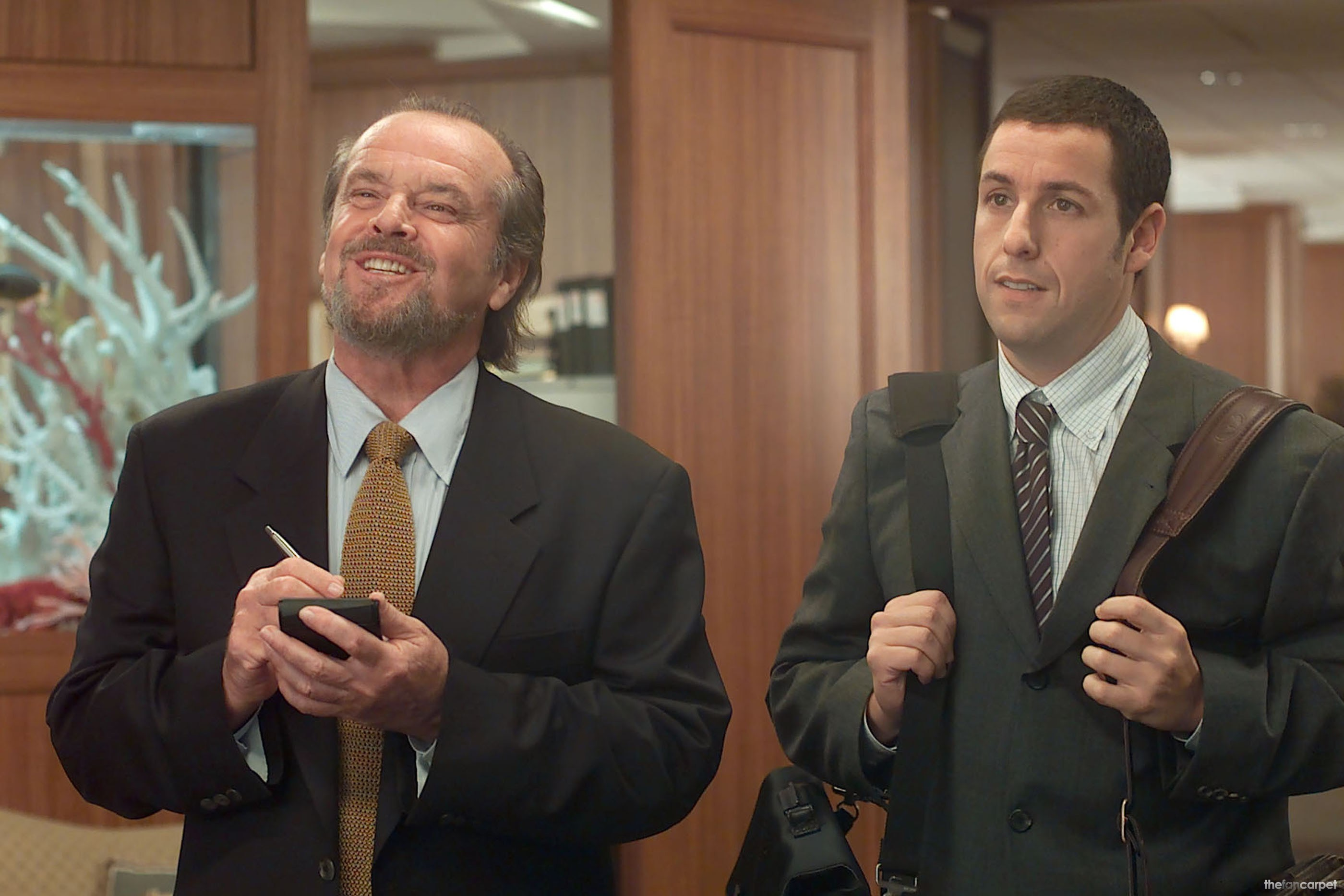 Adam Sandler,Jack Nicholson