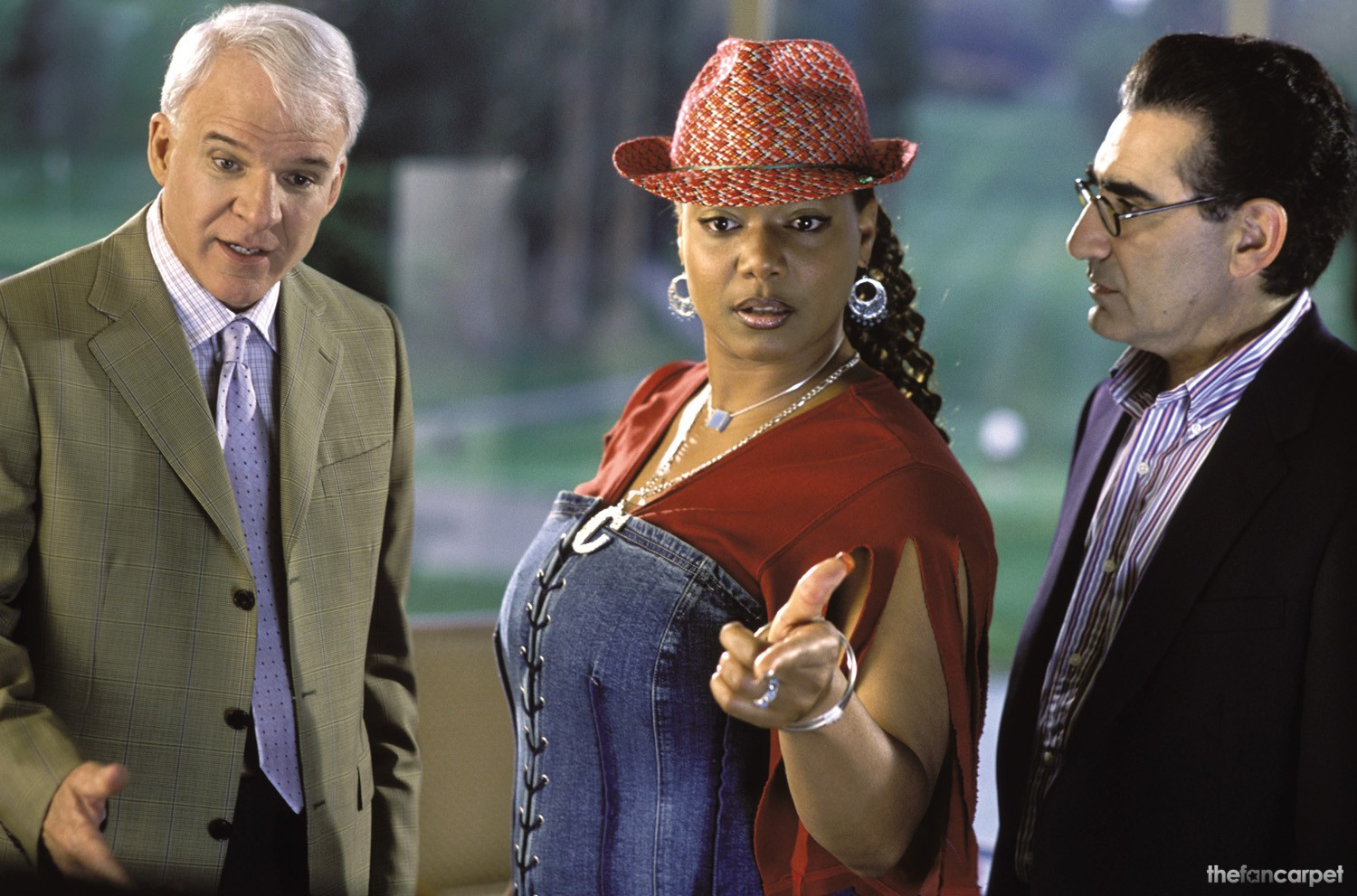 Eugene Levy,Queen Latifah,Steve Martin