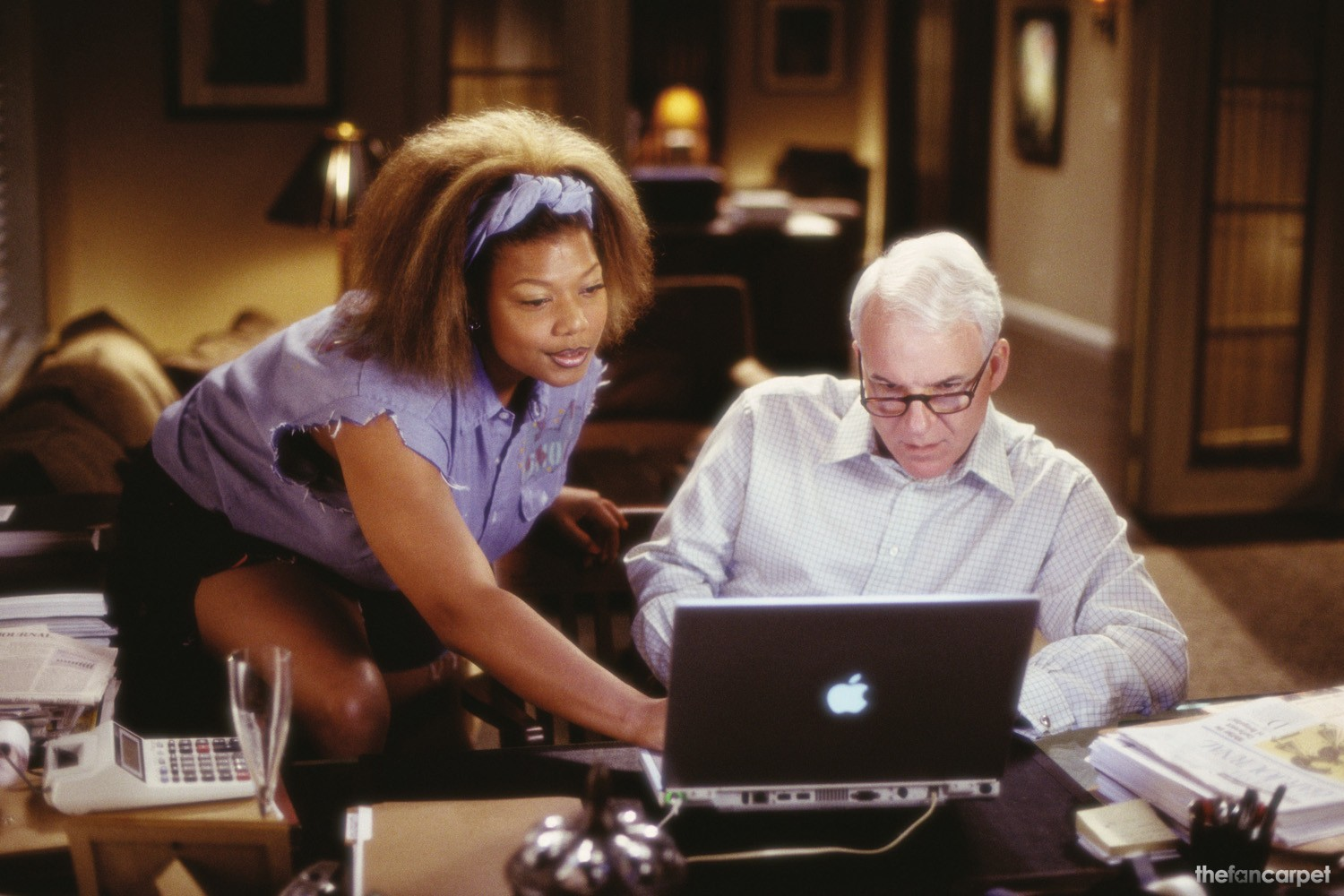 Queen Latifah,Steve Martin