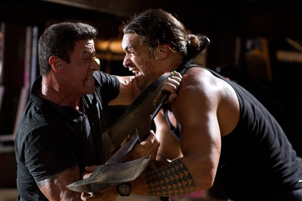 Jason Momoa,Sylvester Stallone