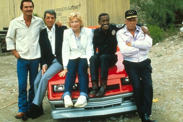 Burt Reynolds,Dean Martin,Sammy Davis Jr.,Shirley MacLaine