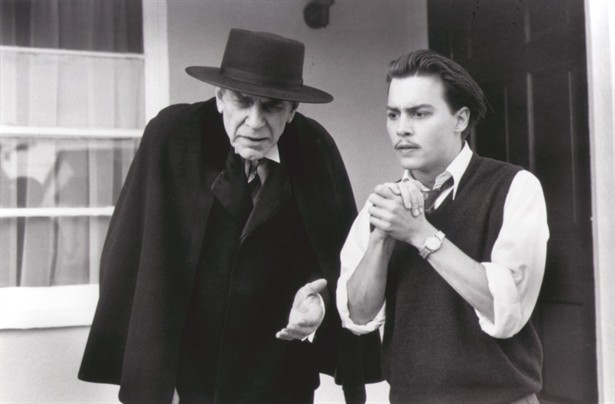 Johnny Depp,Martin Landau
