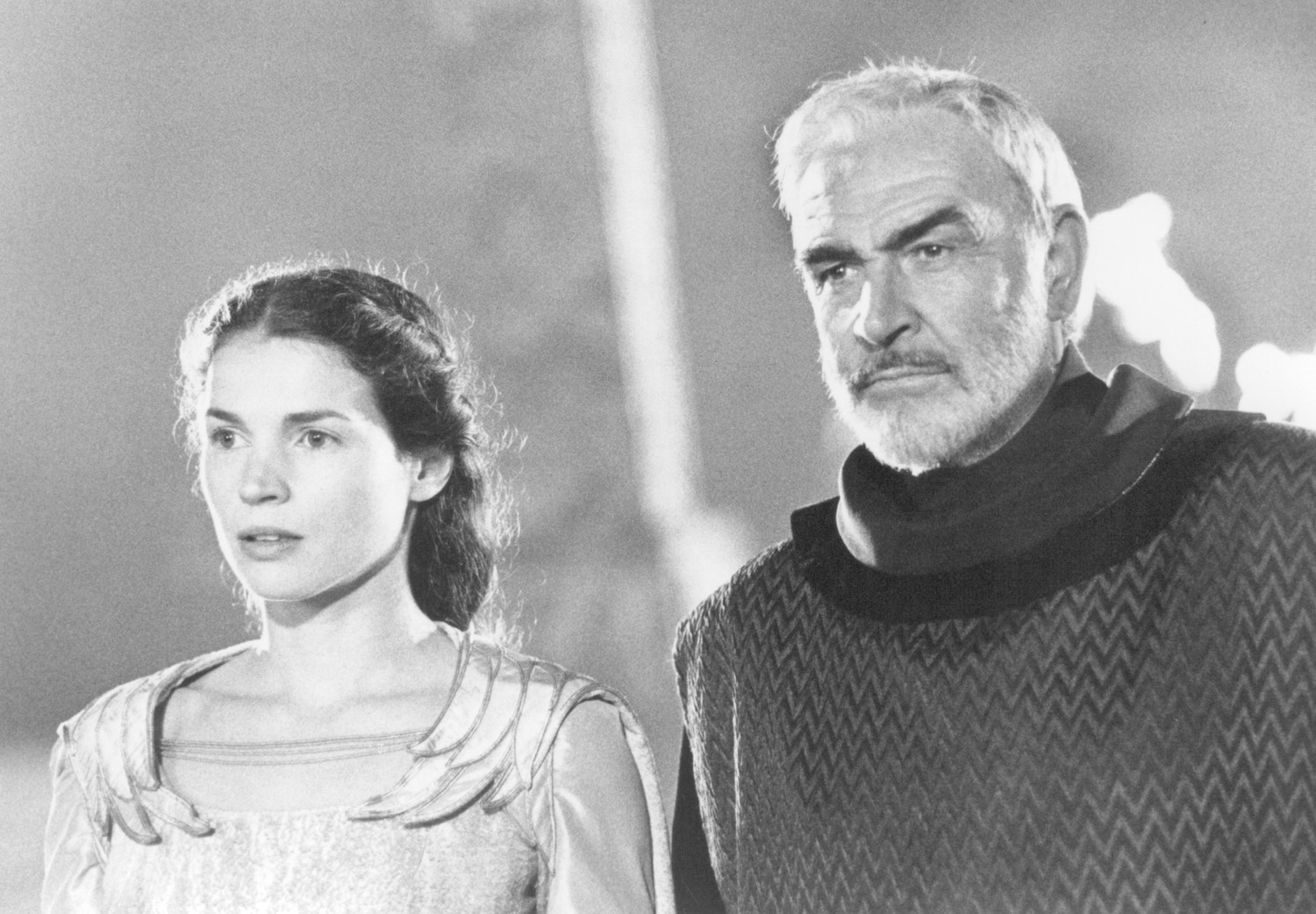 Julia Ormond,Sean Connery