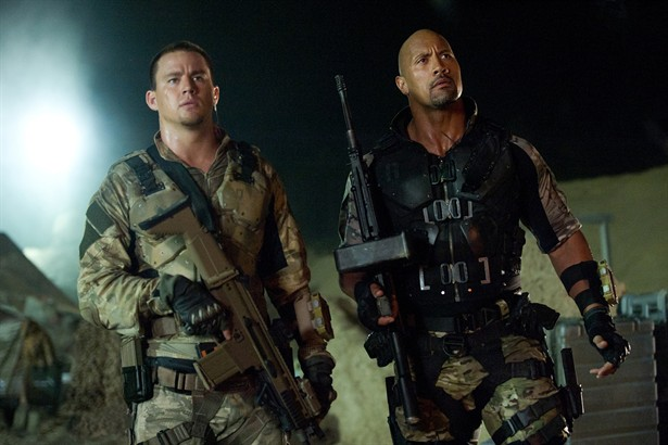 Channing Tatum,Dwayne Johnson