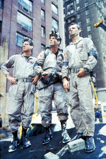 Bill Murray,Dan Aykroyd,Harold Ramis