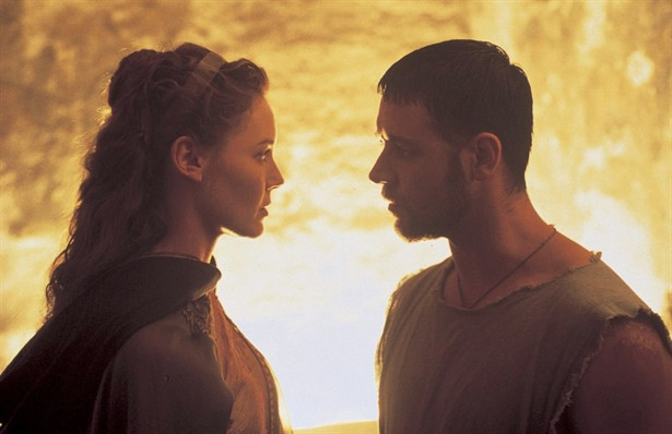 Connie Nielsen,Russell Crowe