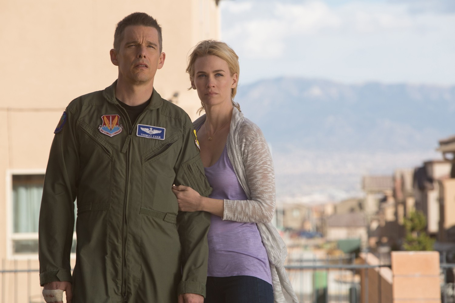 Ethan Hawke,January Jones