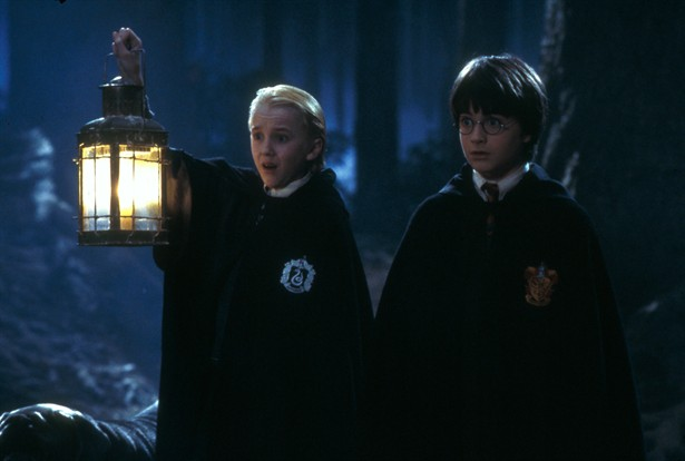 Daniel Radcliffe,Tom Felton