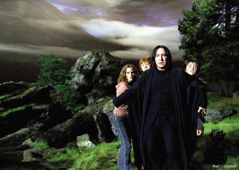 Alan Rickman,Daniel Radcliffe,Emma Watson,Rupert Grint