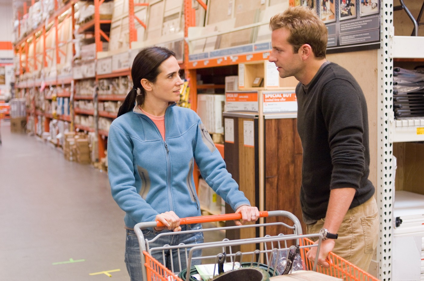 Bradley Cooper,Jennifer Connelly