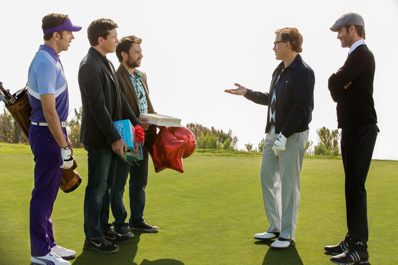 Charlie Day,Chris Pine,Christoph Waltz,Jason Bateman,Jason Sudeikis