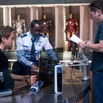 Don Cheadle,Jon Favreau,Robert Downey Jr.