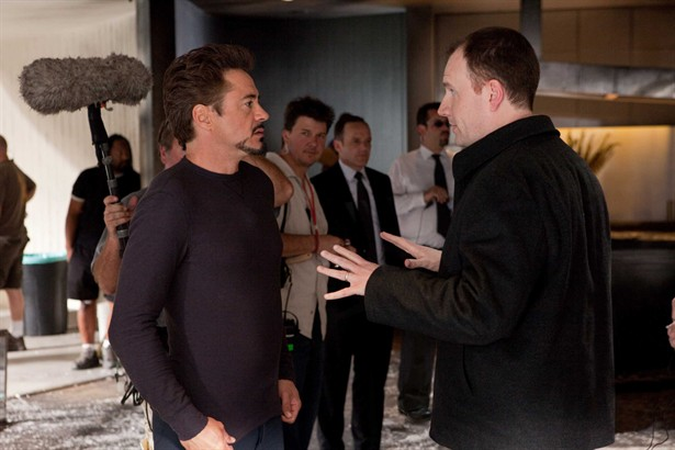 Clark Gregg,Robert Downey Jr.