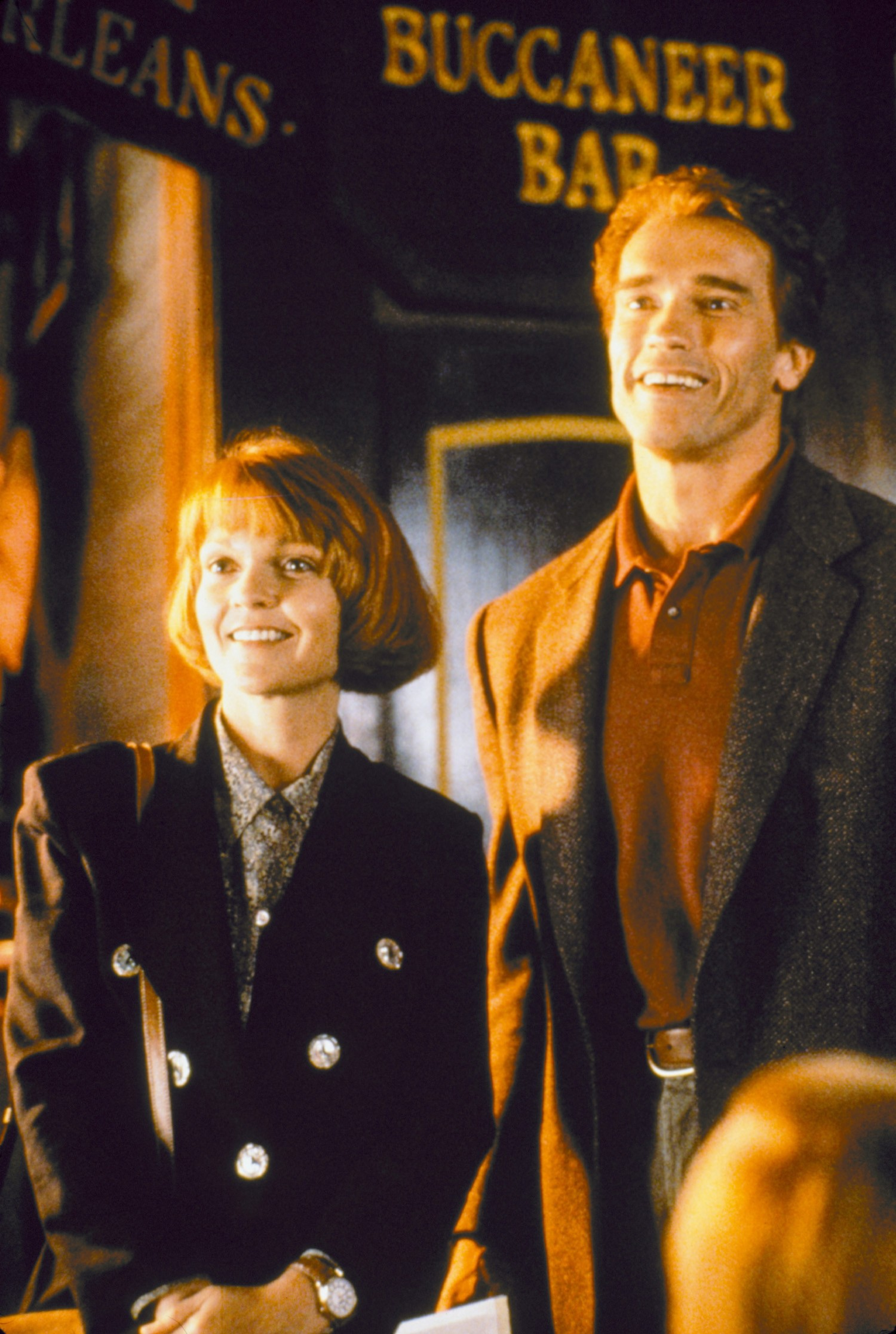 Arnold Schwarzenegger,Pamela Reed
