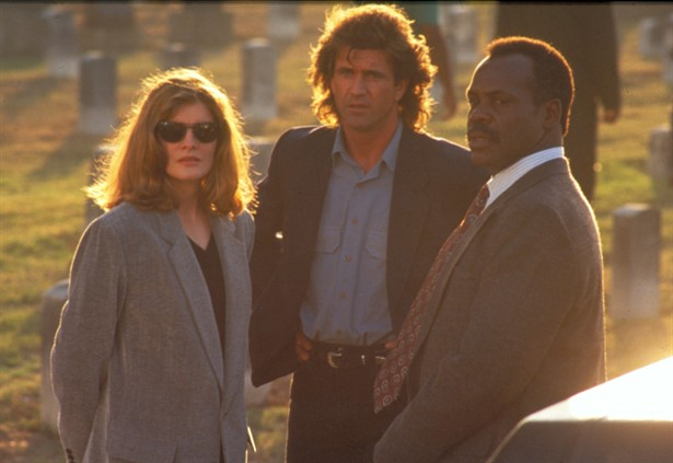 Danny Glover,Mel Gibson,Rene Russo