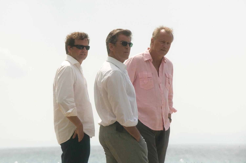Colin Firth,Pierce Brosnan,Stellan Skarsgård