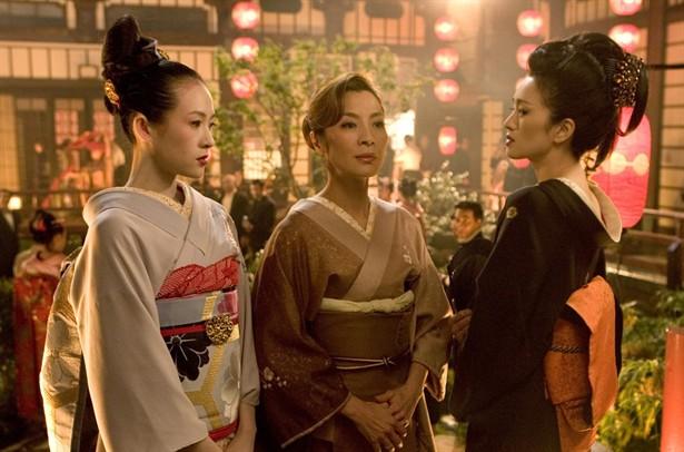 Michelle Yeoh,Ziyi Zhang