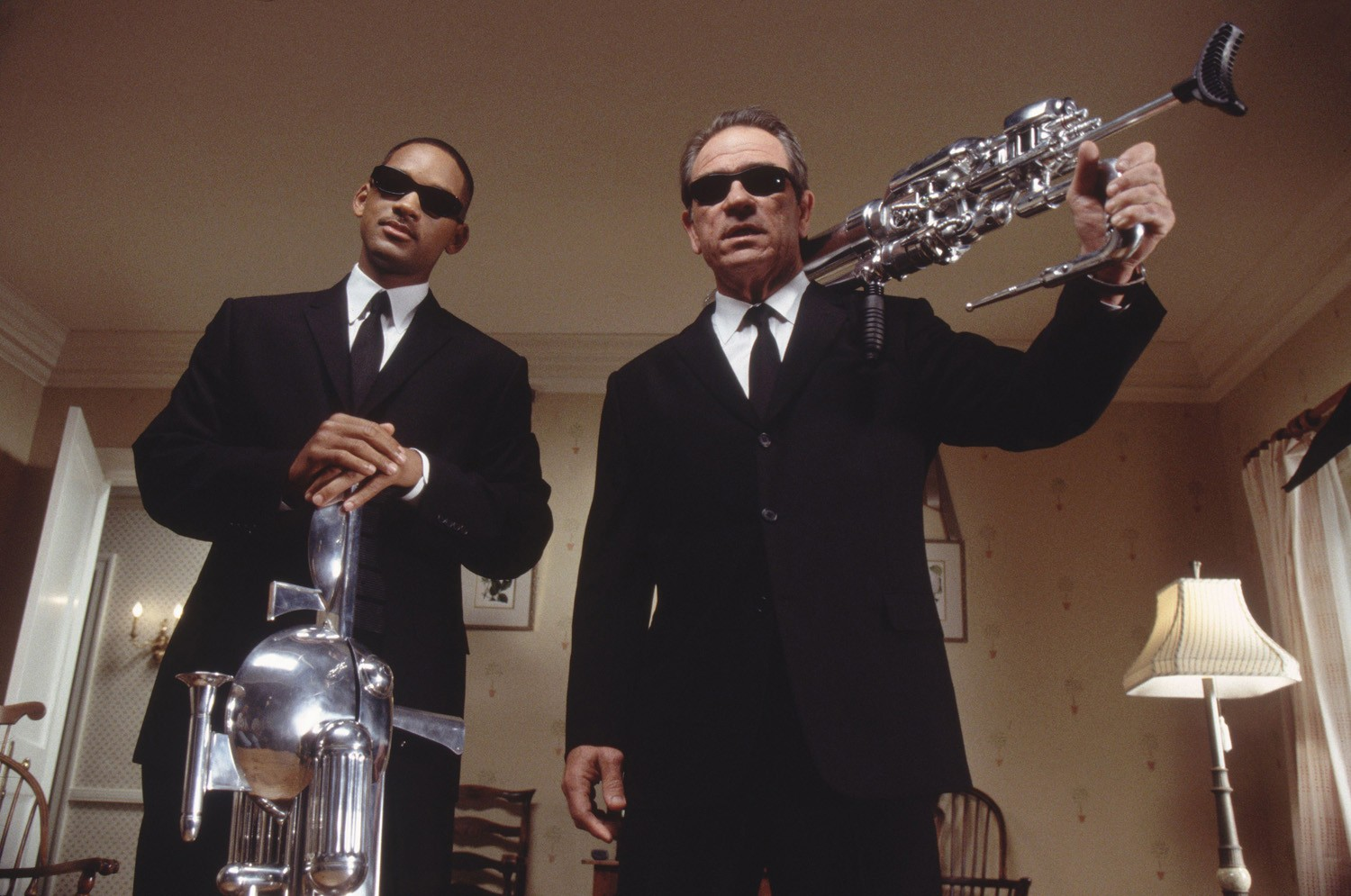 Tommy Lee Jones,Will Smith