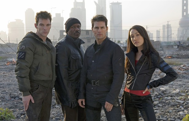 Jonathan Rhys Meyers,Maggie Q,Tom Cruise,Ving Rhames