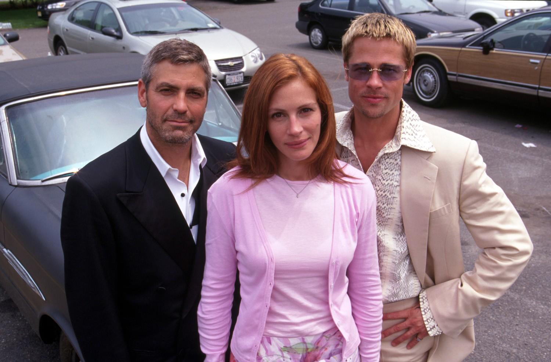 Brad Pitt,George Clooney,Julia Roberts