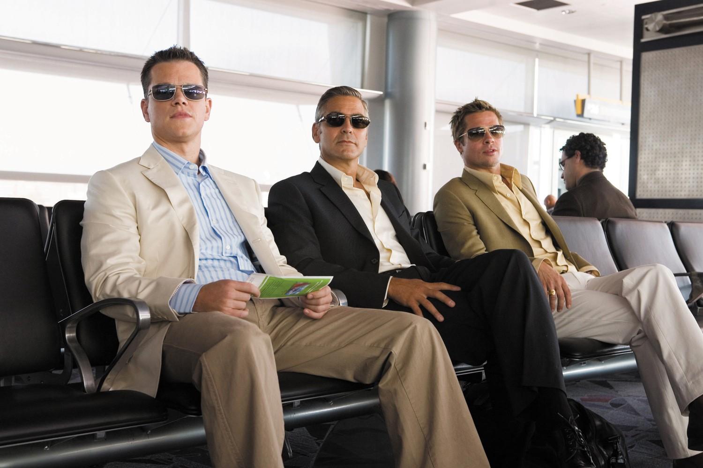 Brad Pitt,George Clooney,Matt Damon