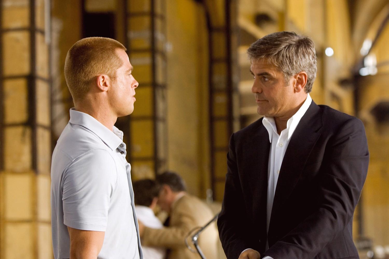 Brad Pitt,George Clooney
