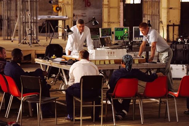 Brad Pitt,Don Cheadle,George Clooney,Matt Damon