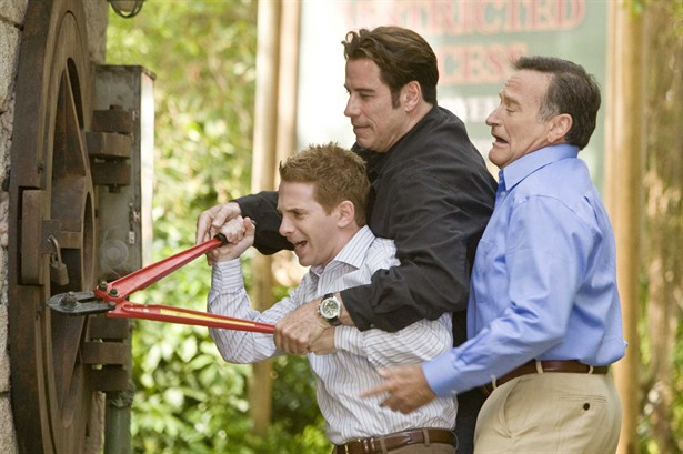 John Travolta,Robin Williams,Seth Green