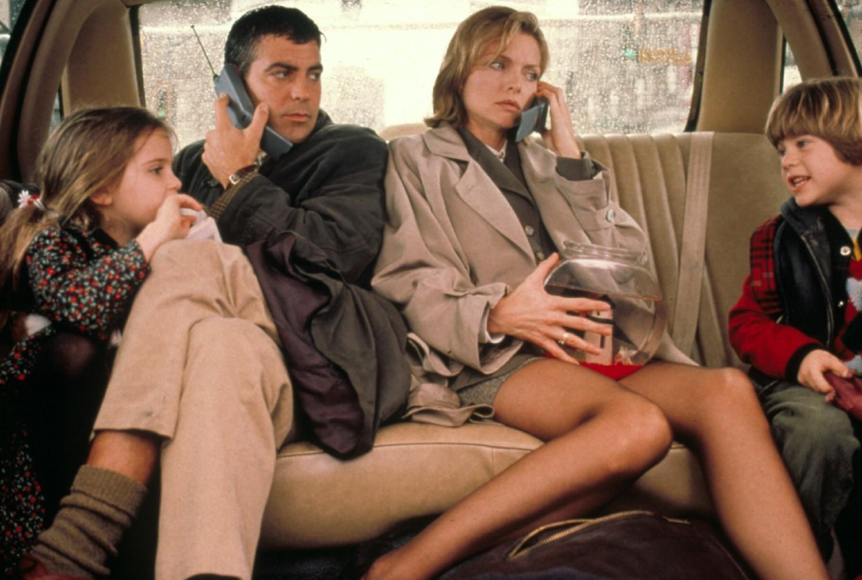Alex D. Linz,George Clooney,Mae Whitman,Michelle Pfeiffer