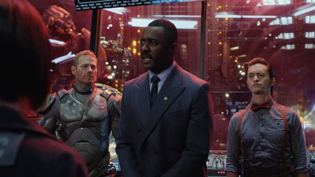 Clifton Collins Jr.,Idris Elba,Max Martini