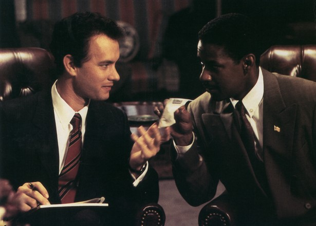 Denzel Washington,Tom Hanks