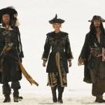 Geoffrey Rush,Johnny Depp,Keira Knightley