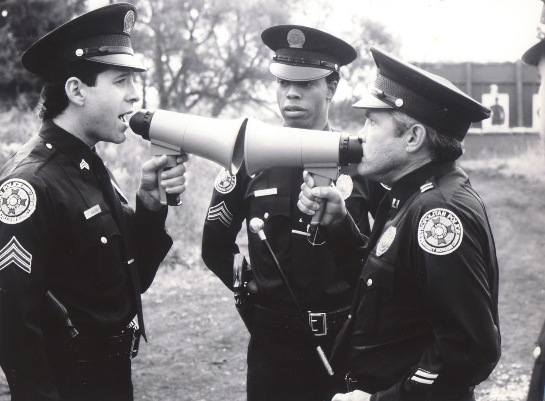 G.W. Bailey,Michael Winslow,Steve Guttenberg