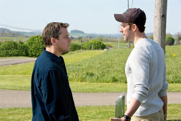 John Krasinski,Matt Damon
