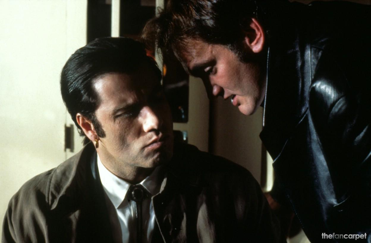 John Travolta,Quentin Tarantino