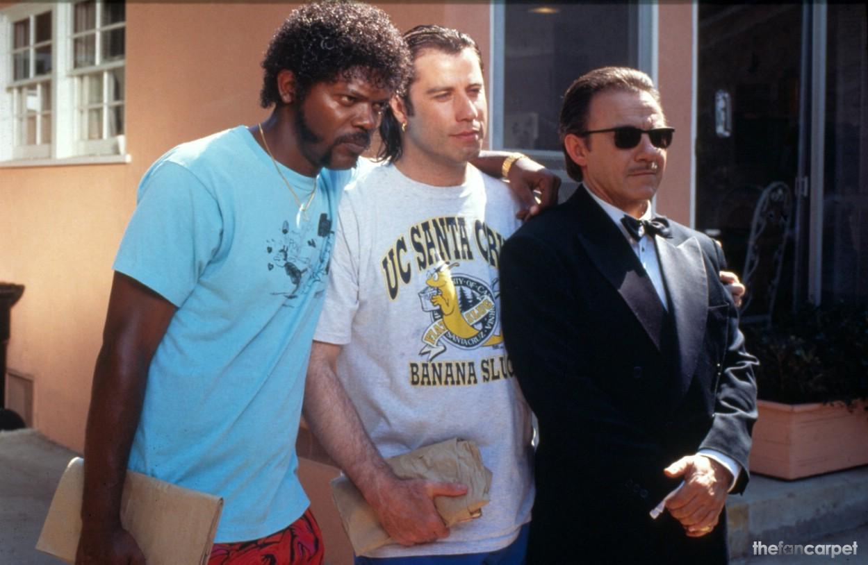 Harvey Keitel,John Travolta,Samuel L. Jackson