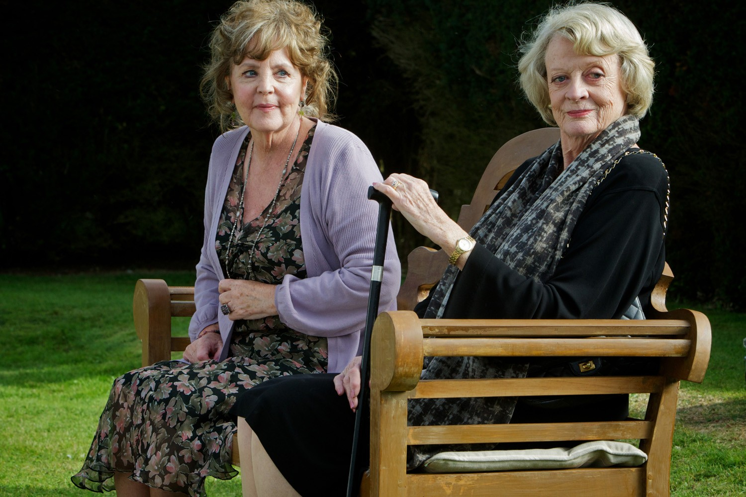 Maggie Smith,Pauline Collins