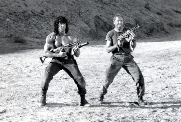 Richard Crenna,Sylvester Stallone