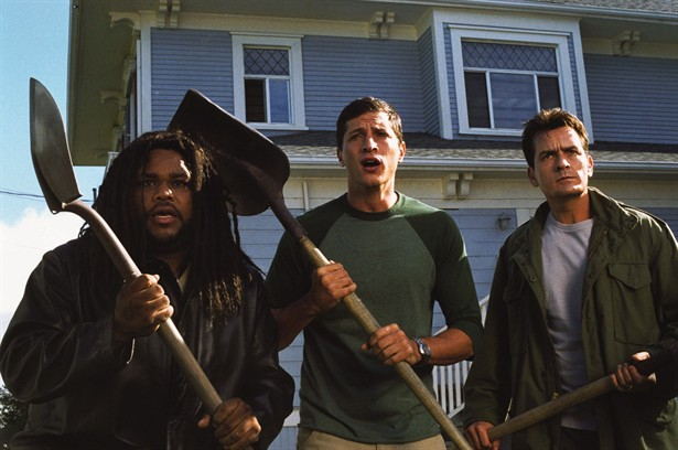 Anthony Anderson,Charlie Sheen,Simon Rex
