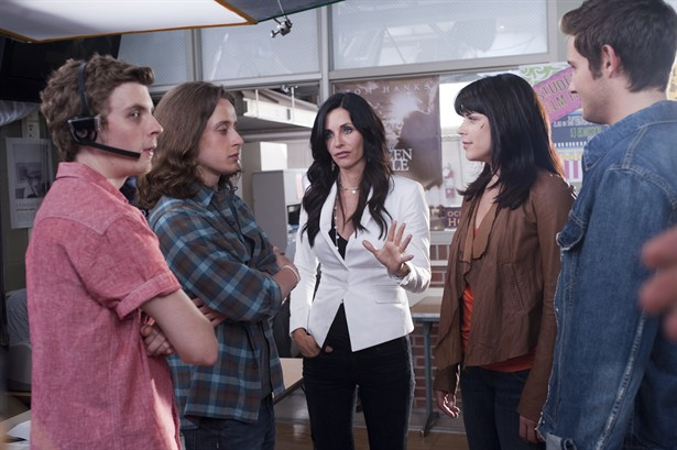Courteney Cox,Neve Campbell,Rory Culkin