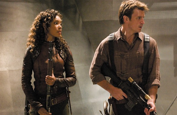Gina Torres,Nathan Fillion