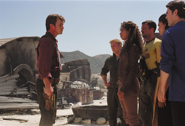 Adam Baldwin,Alan Tudyk,Gina Torres,Jewel Staite,Nathan Fillion,Sean Maher
