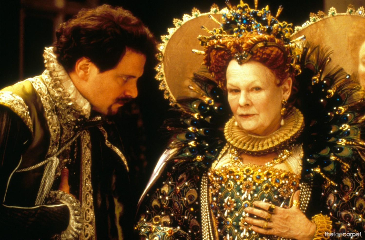 Colin Firth,Judi Dench